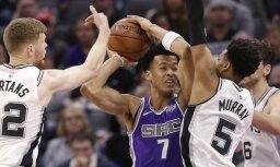 Бертанс зажег в Сакраменто и установил новый рекорд результативности в НБА