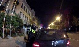 У памятника Свободы задержан 19-летний водитель в опьянении 2,19 промилле