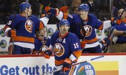'Islanders' gūst divus vārtus trīs sekundēs un atkārto NHL rekordu
