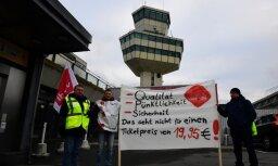 Streiks Berlīnes lidostās beidzies