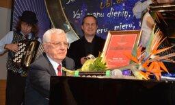 Maestro Raimonds Pauls muzicē Kuldīgā