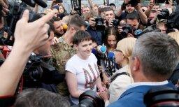 Заявление Савченко в аэропорту Борисполь: герои Украины не должны умирать