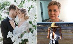 Nedēļas trakumi: Ceriņu pāra skaistās kāzas, Mūrnieces jaunā simpātija un slavenības tveicē