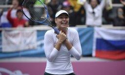 Шарапова выиграла первый титул за два с половиной года