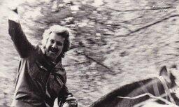Arhīva foto: Latviešu kinorežisoram Ansim Epneram – 80