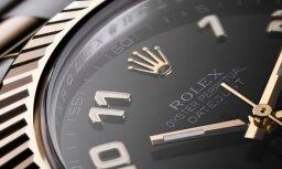 'Napoli' uzbrucējam pēc UEFA Čempionu līgas spēles nolaupa dārgu 'Rolex' pulksteni