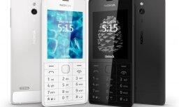 Jauns klasiskā veida tālrunis – 'Nokia 515'
