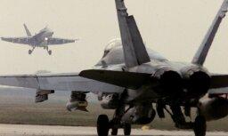 Истребитель США совершил жесткую посадку в Бахрейне