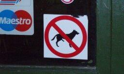 Nepieklājīgiem suņiem ienākt aizliegts!