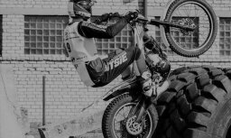 В возрасте 18 лет неожиданно умер чемпион Латвии по мототриалу