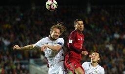Apdraudēta Ronaldu un Portugāles izlases spēle Rīgā