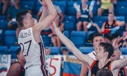 Latvijas U-16 basketbolisti fantastiski izglābjas un sasniedz EČ ceturtdaļfinālu