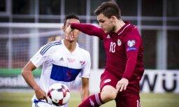 Latvijas futbola izlase pārbaudes mačā cīnās neizšķirti ar Fēru salām