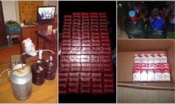 Baldones pagastā un Salaspilī atsavina cigaretes un kandžu