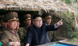 Ziemeļkoreja virzās arvien tuvāk amerikāņu apdraudēšanai ar kodolieročiem, uzsver CIP