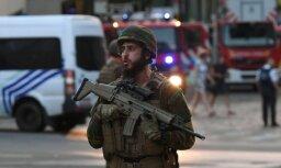 Briseles stacijā karavīri sašauj vīrieti pirms iespējama terorakta veikšanas