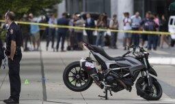 На съемках погибла профессиональная мотогонщица, дебютировавшая как каскадер