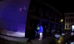 Вецрига: после вечеринки студент разгуливал по улицам без брюк и обуви