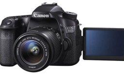 Jaunā 'Canon EOS 70D' spoguļkamera aprīkota ar 'Dual Pixel' autofokusa sistēmu