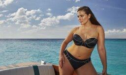 90 килограммов обнаженной красоты: Эшли Грэм снялась в мокрой майке