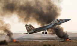 Самолеты израильских ВВС уничтожили сирийскую батарею ПВО