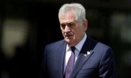 Serbija brīdina Kosovu, ka aizstāvēs katru savas teritorijas collu
