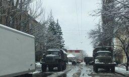 Наблюдатели ОБСЕ опубликовали фото военной техники в Луганске