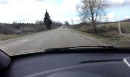 ВИДЕО: С ветерком! Пассажирский автобус Nordeka разогнался до 120 км/ч