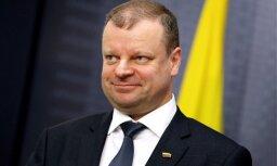 Lietuvas premjers: LDz prasība par kompensāciju ir neizprotama un nepamatota