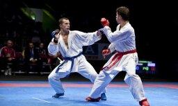Karatists Sadikovs cieš zaudējumu Eiropas čempionāta bronzas finālā