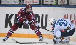 Rīgas 'Dinamo' pēdējā minūtē izlaiž uzvaru; 'bullīšos' piedzīvo sesto zaudējumu pēc kārtas