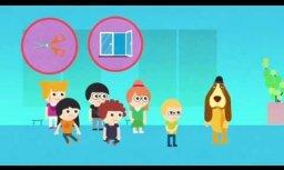 Tapušas trīs izglītojošas animācijas filmas bērniem par traumatisma profilaksi