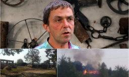 Saimniekšovā iepazītā Dagņa Darģa saimniecība cietusi ugunsgrēkā; vīrietis lūdz palīdzību