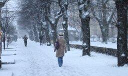 25.novembris - pirmā ziemas diena Latvijā