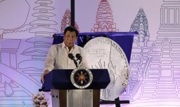 Filipīnu prezidents pieļauj karastāvokļa izsludināšanu