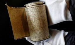 Francija de Sada manuskriptu pasludina par nacionālo dārgumu un aizliedz izvest no valsts