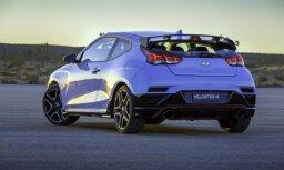'Hyundai' prezentējis jauno asimetrisko hečbeku 'Veloster'