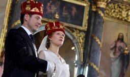 Foto: Ieskats Serbijas prinča Filipa kāzās