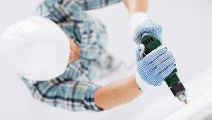 Pieci remontdarbi mājās, ko labāk uzticēt profesionāļa rokām