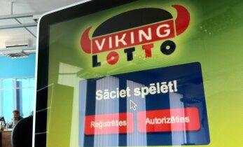 'Viking Lotto' Rīgā laimēti 41 092 eiro, bet momentloterijā 'Sapnis' Aizputē 10 000 eiro