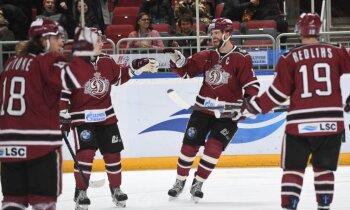 Rīgas 'Dinamo' pēcspēles metienos piekāpjas KHL čempioniem 'Ak Bars'