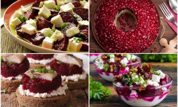 Sarkans, balts un atkal sarkans: 18 idejas uzkodām un salātiem karoga krāsās