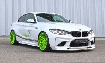 'Hamann' pārveidojis jau tā sportisko 'BMW M2'