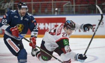 Latvijas hokeja izlase piedzīvo vēl vienu 'sauso' sakāvi pret Somiju