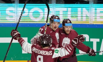 Karsums un video treneris Groms palīdz Latvijai tikt pie smagas uzvaras