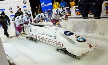 Ķibermanis ar teicamu otro braucienu izcīna piekto vietu Sanktmoricā; TOP10 arī Melbārdis