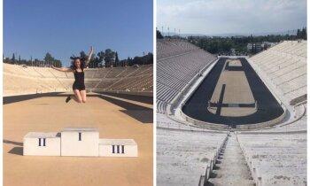 Olimpisko spēļu dzimšanas vieta – Panatenālais stadions, kur sajust uzvaras garšu