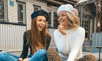 Latvijas 'TikTok' superzvaigznes – māsas Elīna un Lida