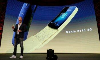 'Nokia' negaidīti paziņo par leģendārā '8110' atgriešanu tirgū