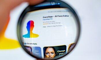 'FaceApp' lietotne nonākusi VDD redzeslokā